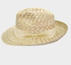 My wide straw fedora